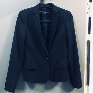 Zara navy blue blazer size Xs